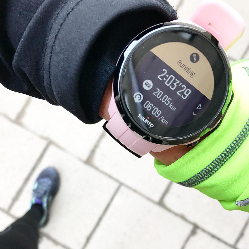 20 km löpning idag, det är 5 km längre än förra söndagens långpass.