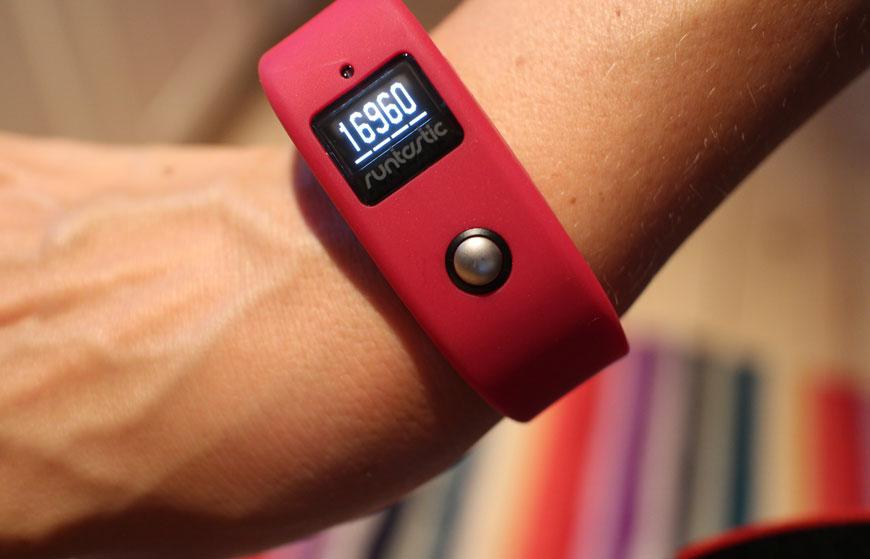 aktivitetsband Runtastic ORBIT 24 hour activity, fitness & sleep tracker