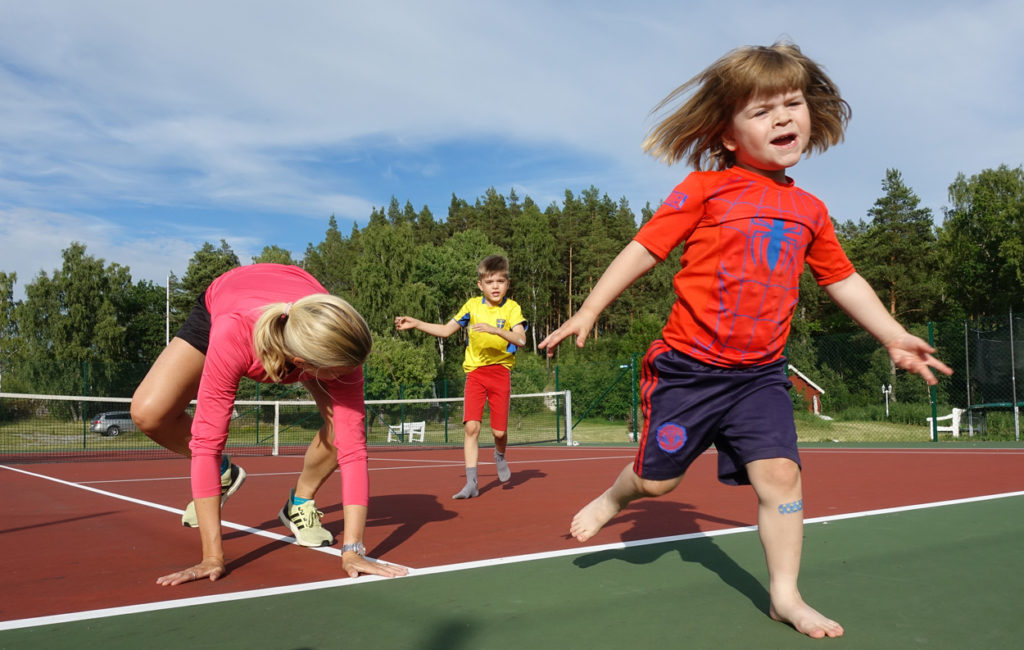 Var en aktiv familj i höst och upplev underbara stunder tillsammans - samtidigt som ni främjar er hälsa.