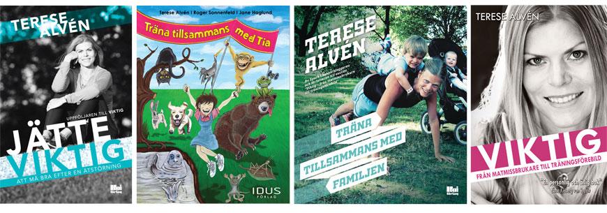 Vinn de fyra böckerna jag hittills har skrivit och publicerat.