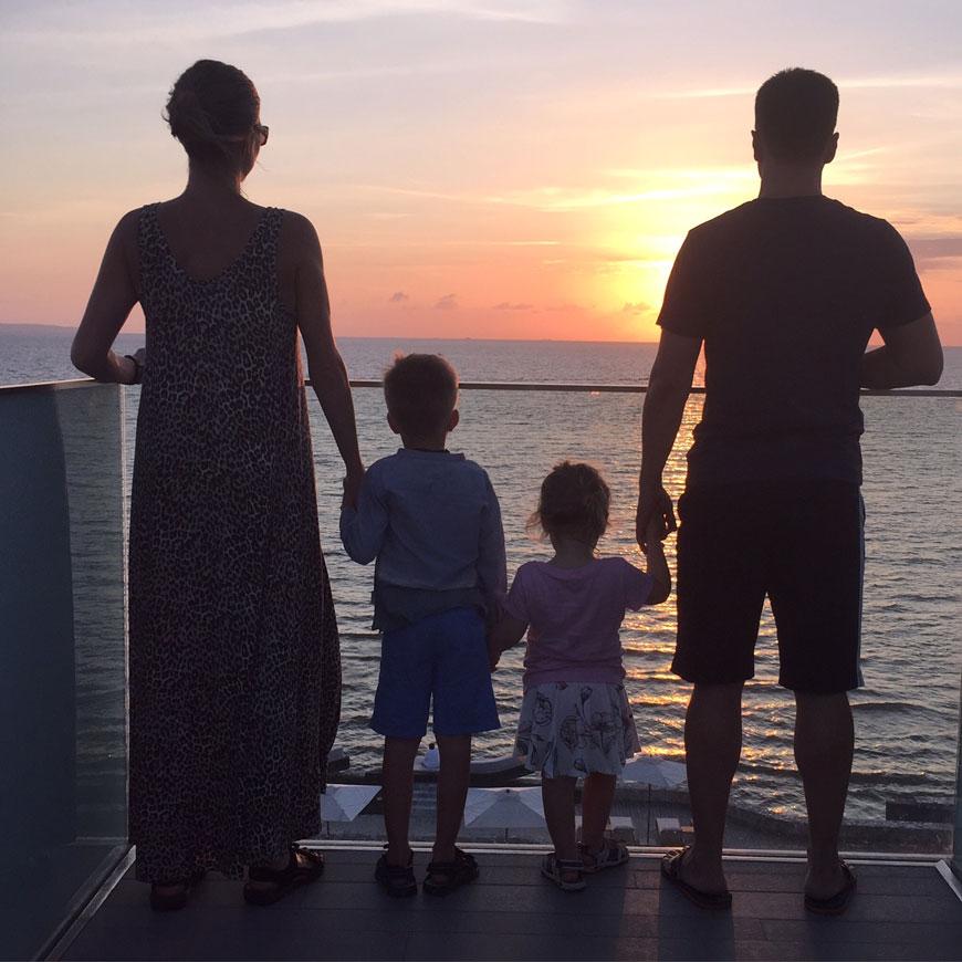 balans familj
