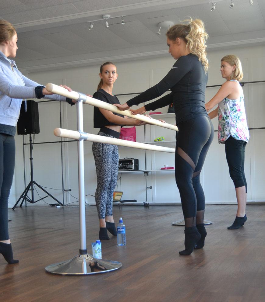 barre - funktionell hållnings- och styrketräning med grunder i balett