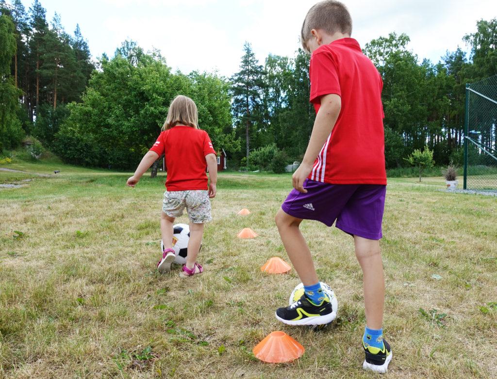 Ny studie: Barn rör på sig alldeles för lite.