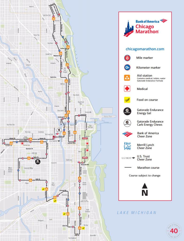 Längtar efter att få springa Chicago Marathon tillsammans med min man.