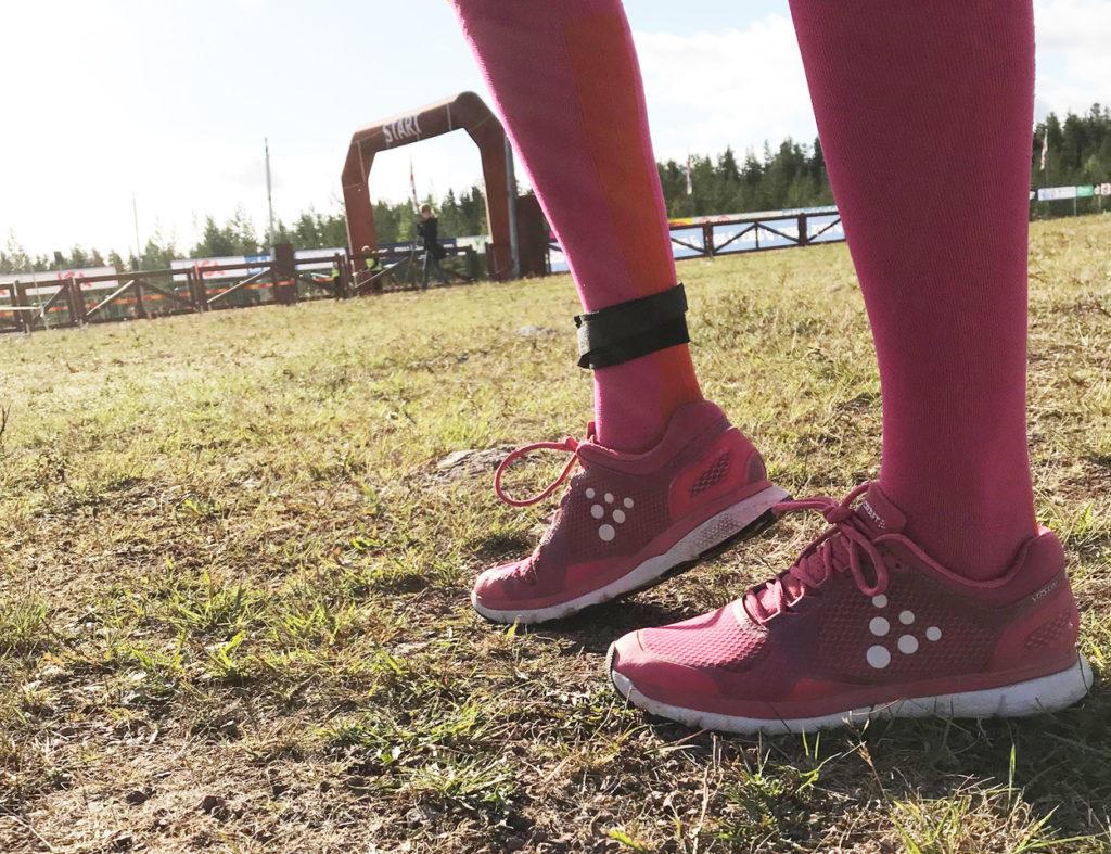 Jag har sprungit i mina Craft-skor senaste veckorna, de var perfekta för min sträcka.