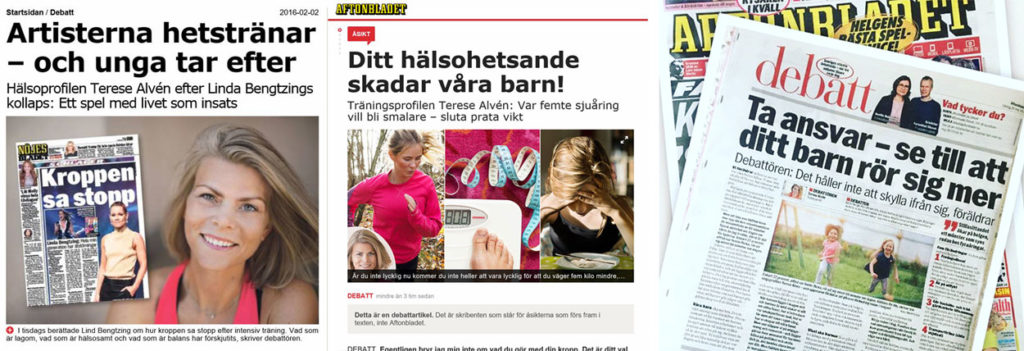 Debattinlägg Aftonbladet Terese Alvén.