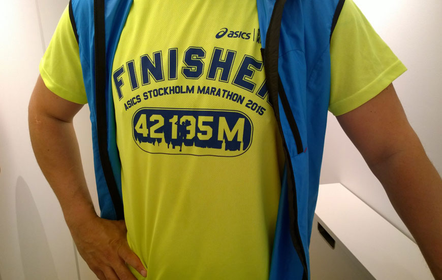 stockholm marathon finisher 2015
