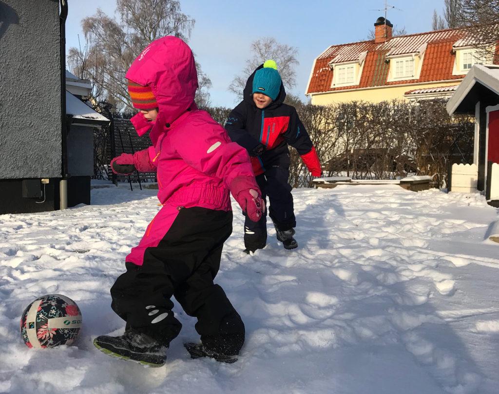 Vacker vinter i Stockholm i år. Perfekt för att njuta utomhus!