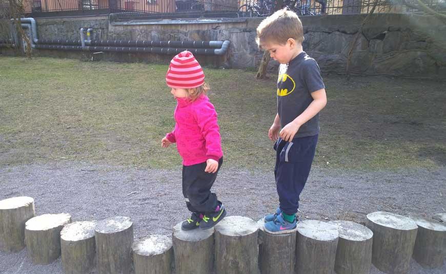 Träna med barn