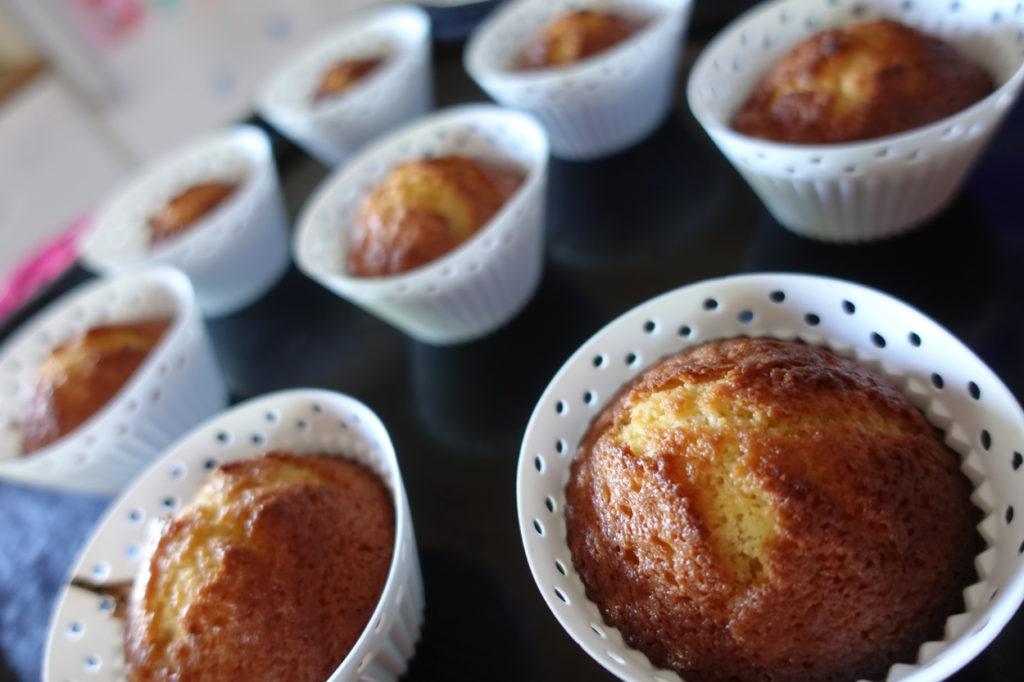 Goda och lättlagade citronmuffins.