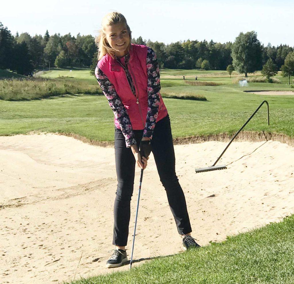 I tisdags var jag golfmodell för en plåtning med Daily Sports inför deras kollektion nästa höst. Härligt att få svinga klubban lite. Har ju pausat golfen i sommar då jag inte haft tid med nytt hus och trädgård. Men nästa år så!