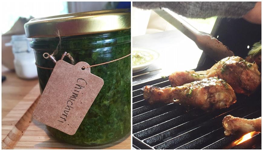 grillad kyckling med chimichurri