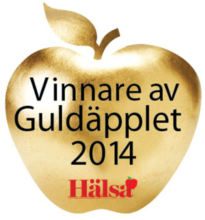 Vinnare av Hälsas guldäpple