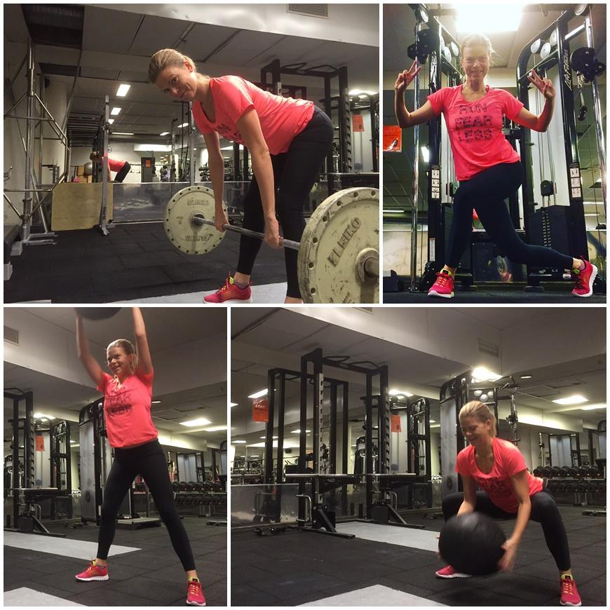 styrketräna i gym