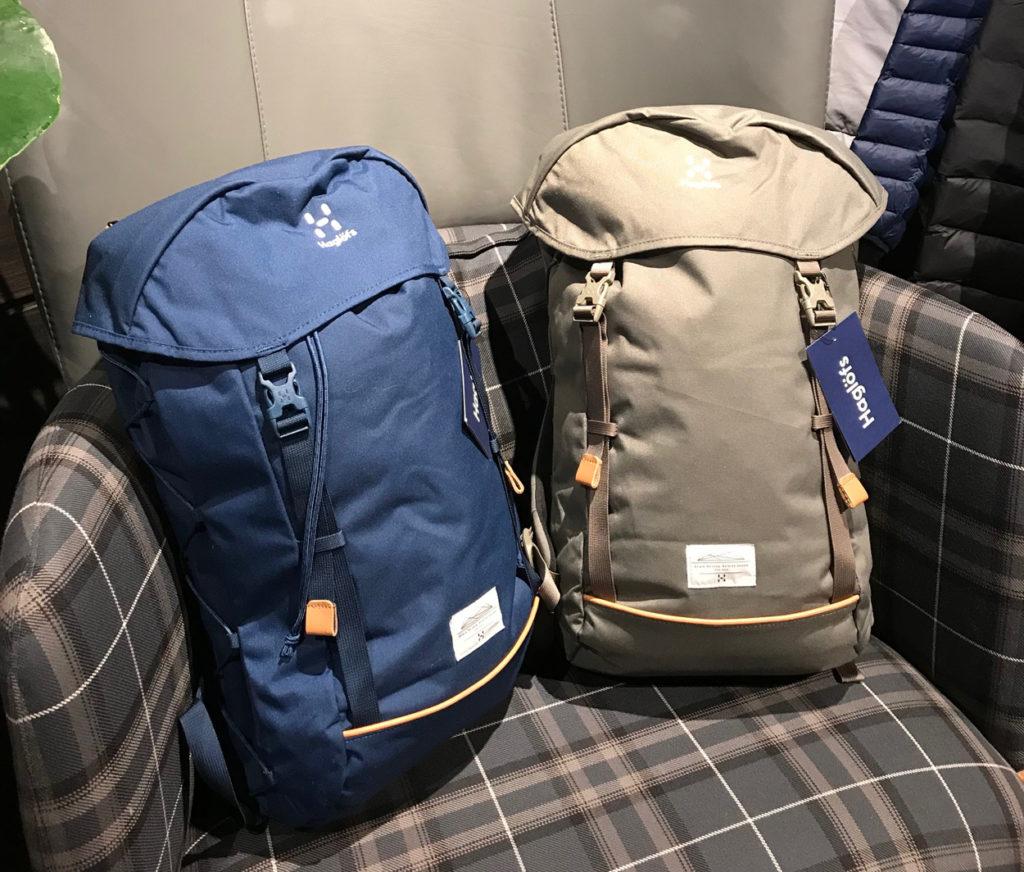 Haglöfs snygga väskor i dova trendfärger.
