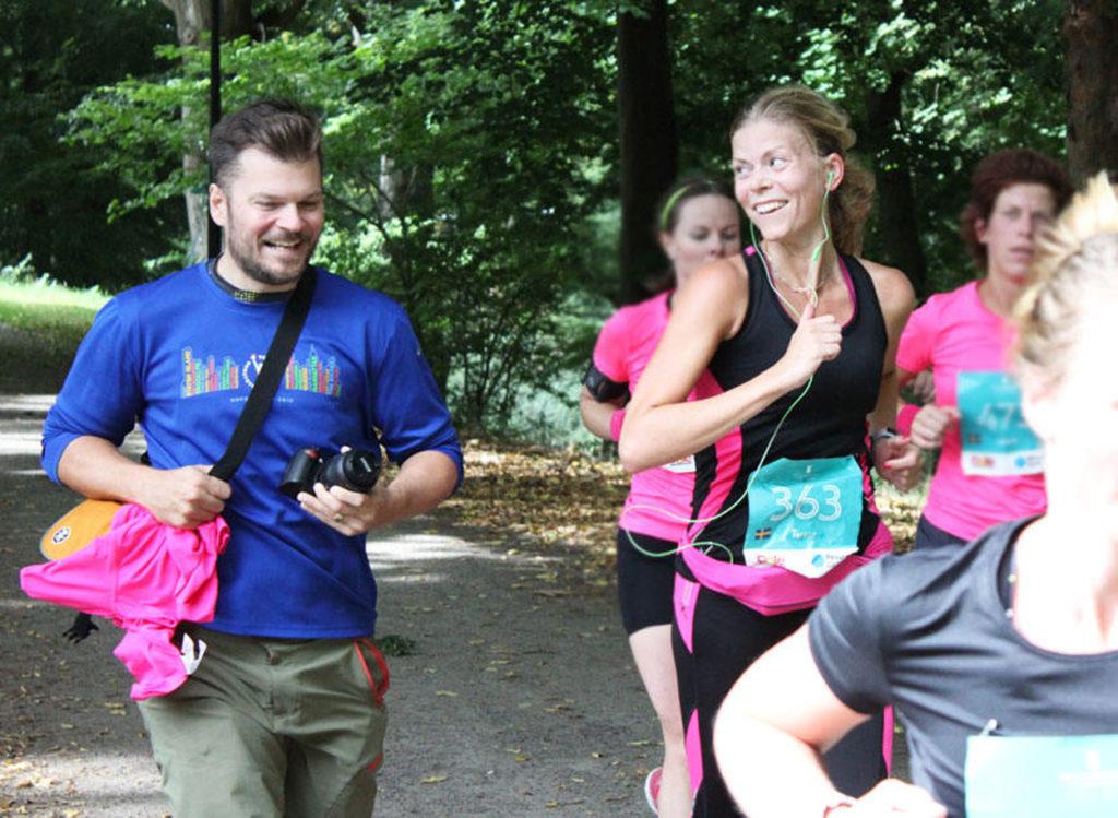 Pepp från Glenn - ikväll tröja från New York Marathon dagen till ära.