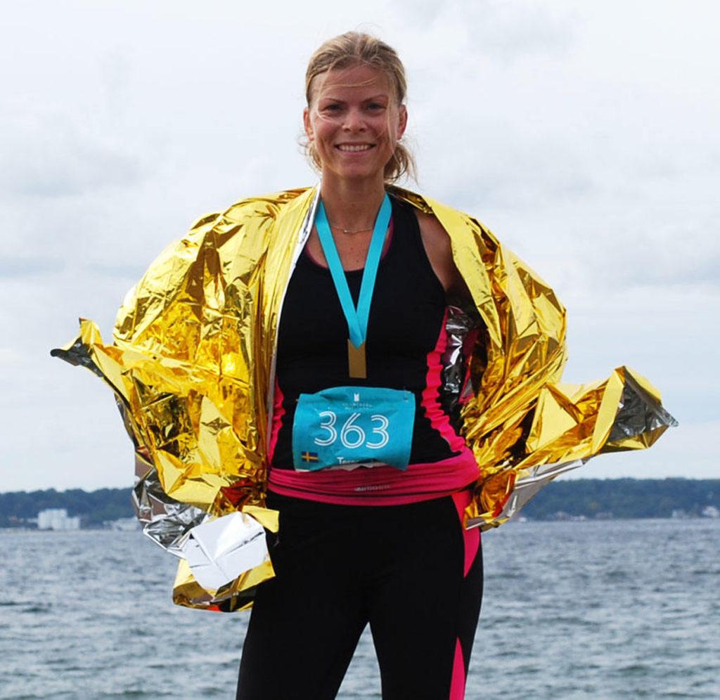 Vinnare! I alla fall i mitt eget lopp. Ett maraton handlar för de flesta om att tävla mot sig själv.