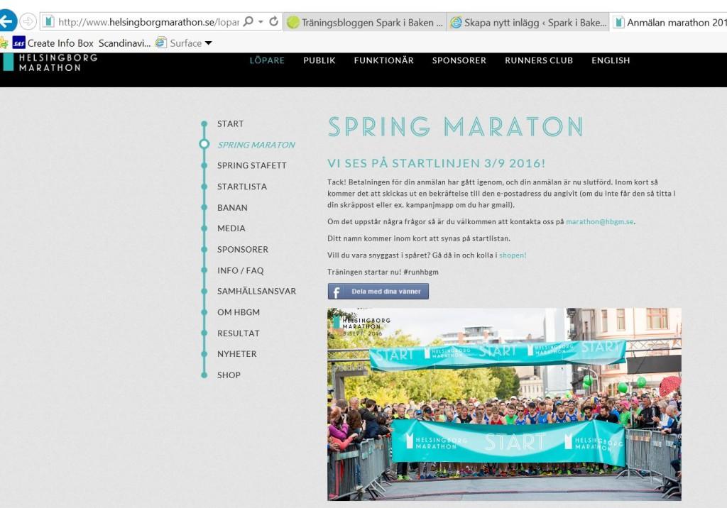helsningborg marathon