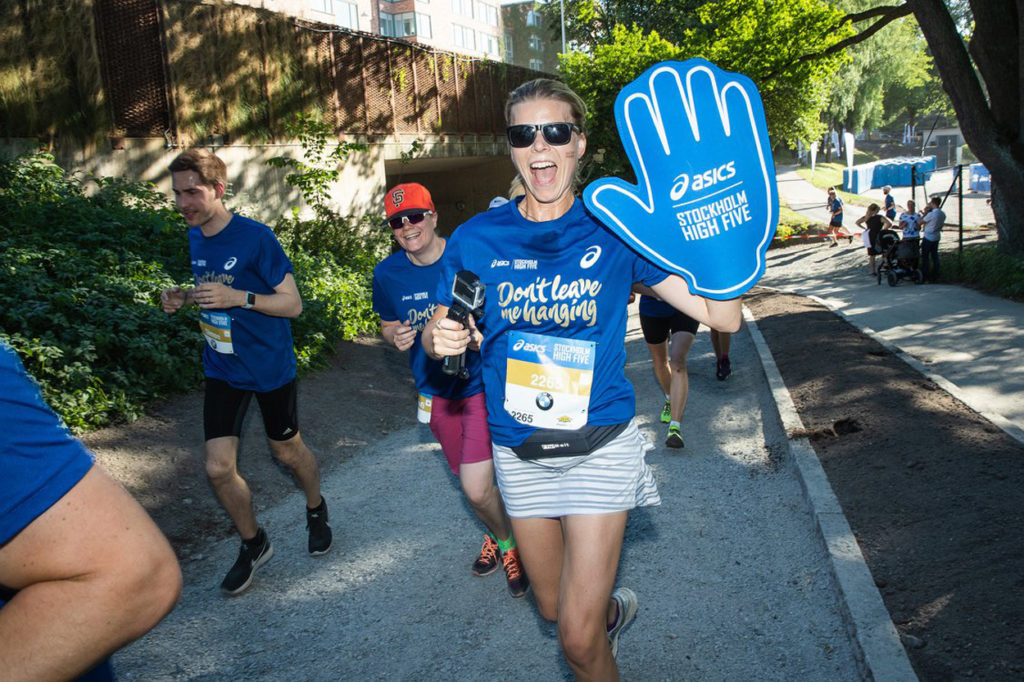 ASICS Stockholm High Five. Foto: DECA Text & Bild.