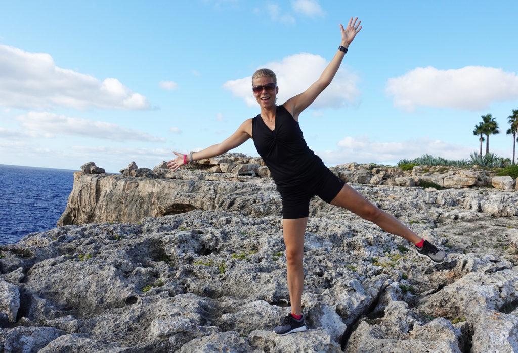 Jag var på Mallorca för några veckor sedan, nu ska jag dit igen. Denna gång på konferens och för att springa halvmaran.