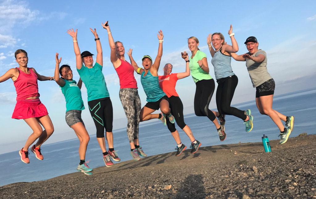 1. Löpning med fantastiska kvinnor.