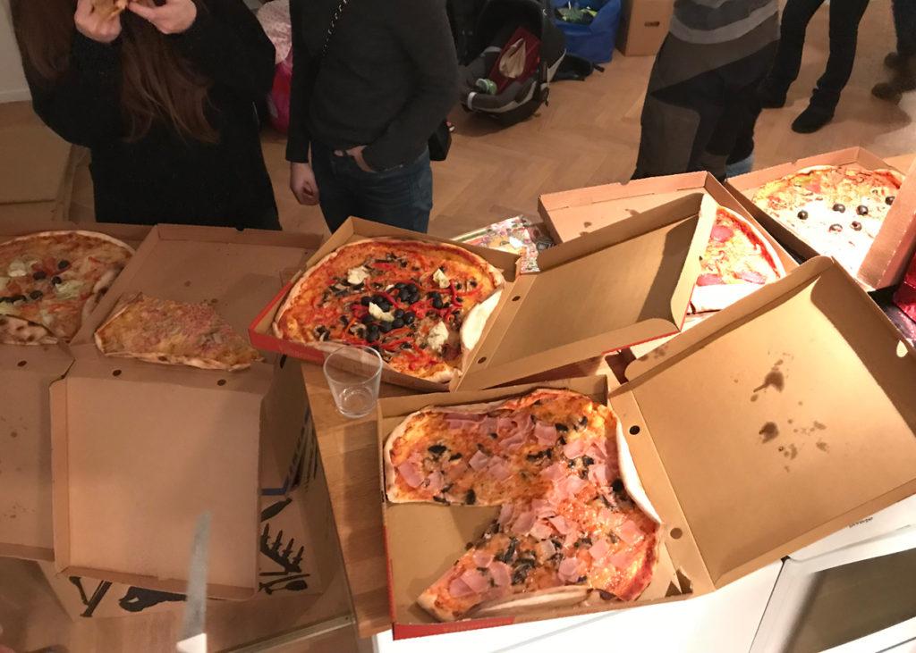 Pizzabuffé - vi testade olika pizzerior i området och utvärderade.
