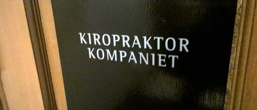 kiropraktorkompaniet - kiropraktor i Stockholm