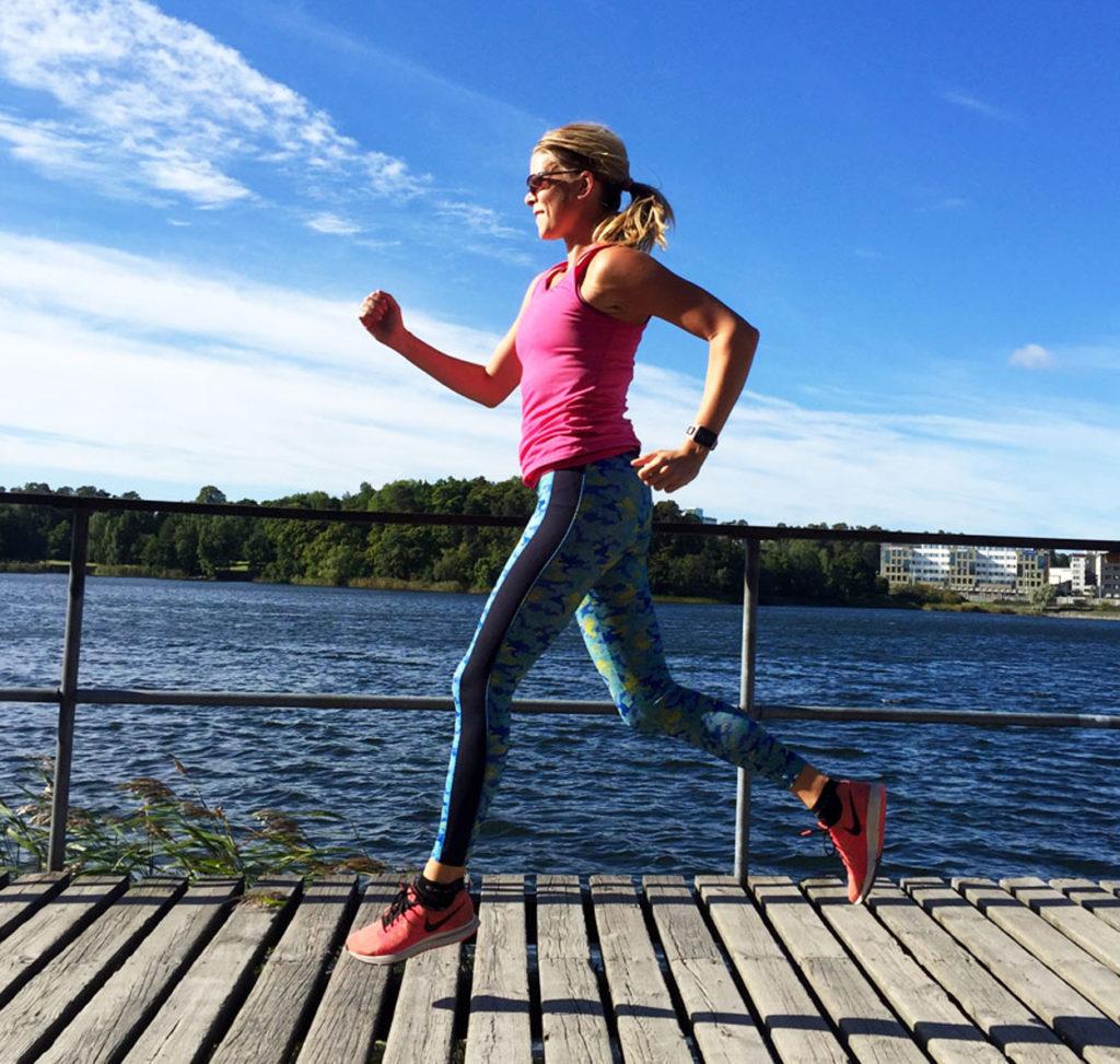 Löpning är underbart och ett perfekt sätt att få uppleva naturen.