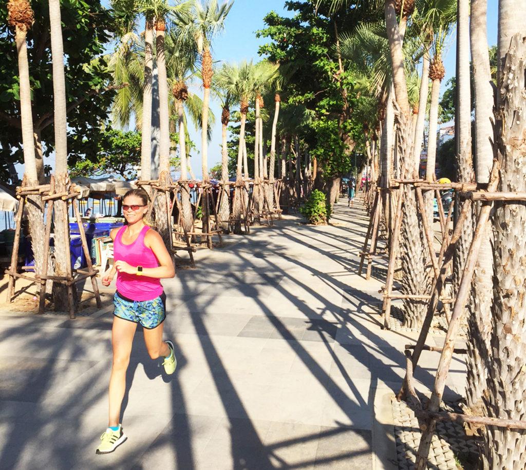 Att springa på semestern är en favorit hos mig och ett mål med min löpning är att ge mig förutsättningar för att kunna springa året om.