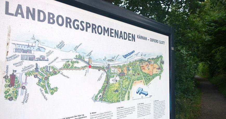 landborgspromenaden