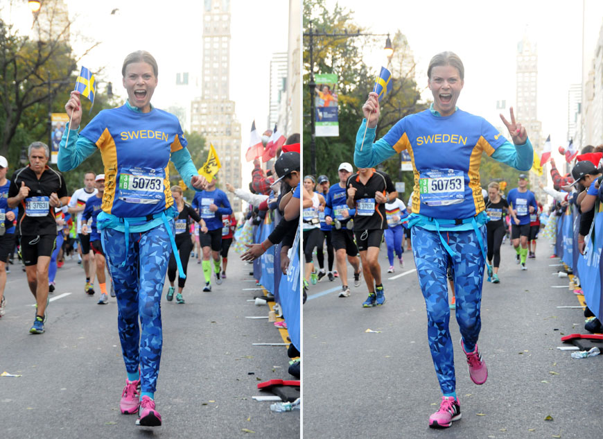 TCM New York City Marathon 2015 Sweden