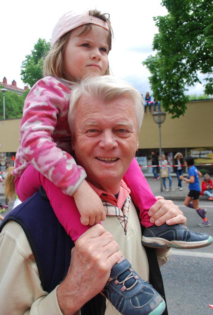 Tilde och morfar.