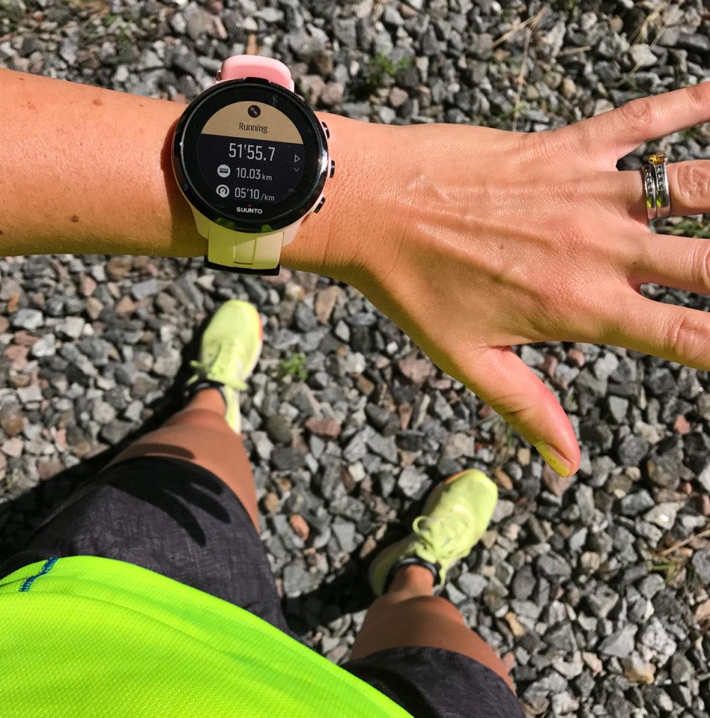Det var bra länge sedan jag sprang en mil under 52 minuter, och det bästa av allt - jag kände att jag har mycket mer att ge.
