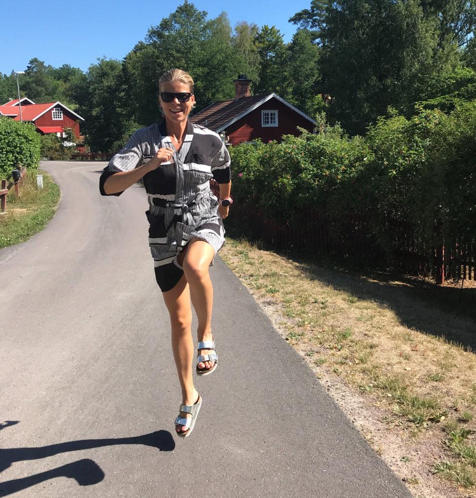 Skutt i den svenska sommaren.
