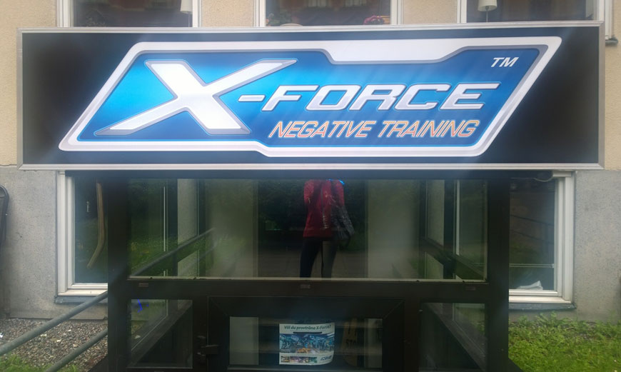 negative training x-force