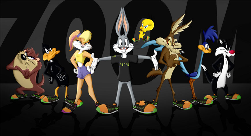 NIKE+ RUN CLUB & WARNER BROS.'LOONEY TUNES UTMANAR LÖPARE