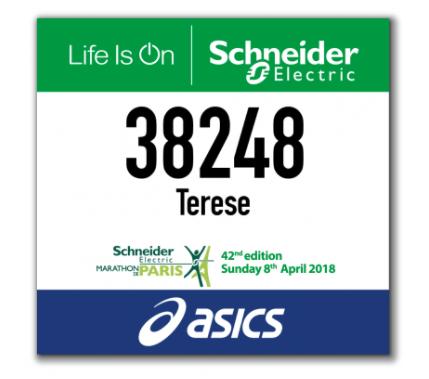 Om 71 dagar sätter jag på mig nummerlappen och springer Paris Marathon.