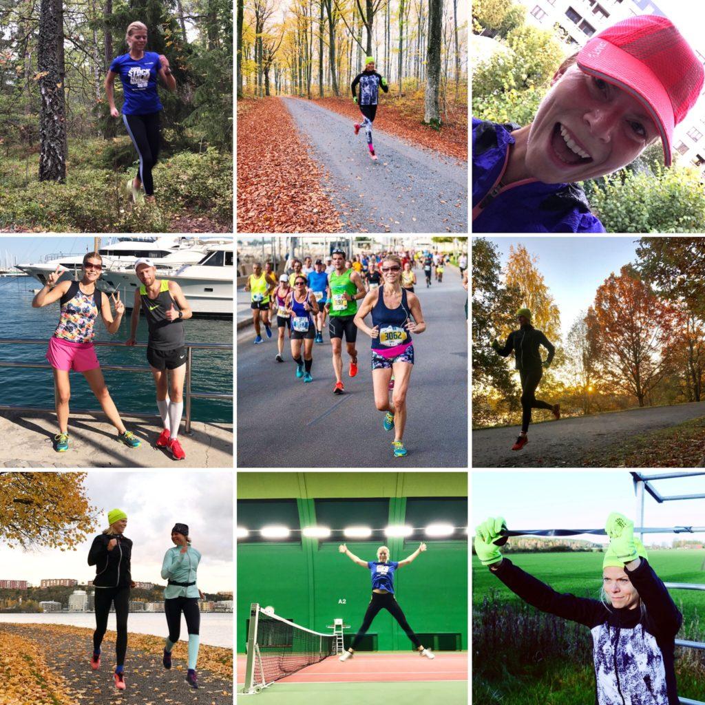 Några bilder från oktober månads träning.