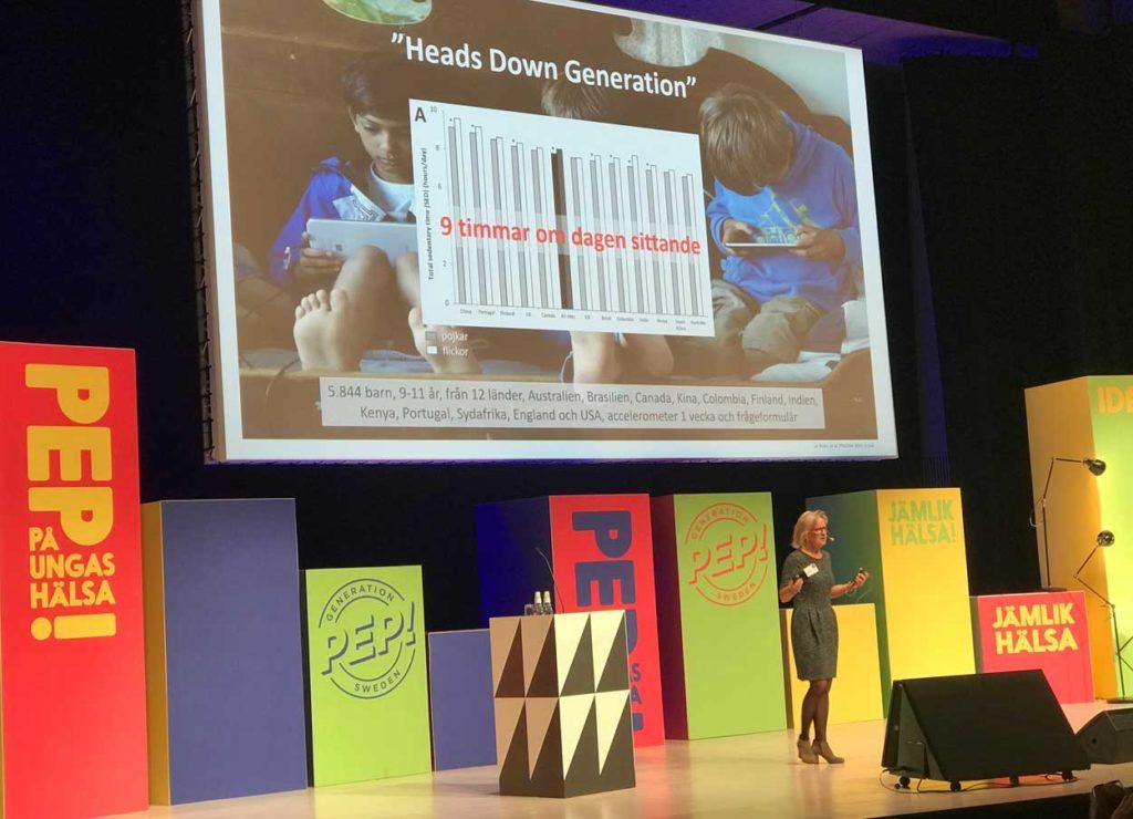 """Vi behöver agera för att """"head down generation"""" ska må bra."""