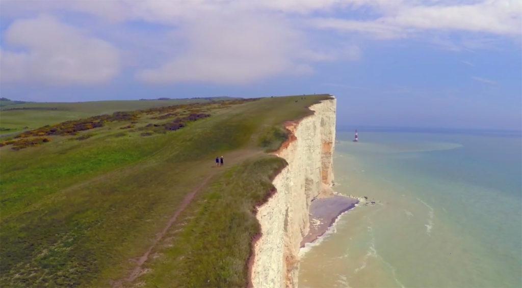 Foto från Ragnar White Cliffs. Hur härlig miljö att springa i?!