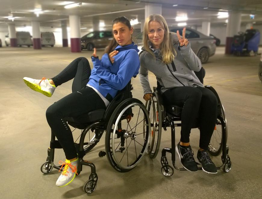Träning i rullstol