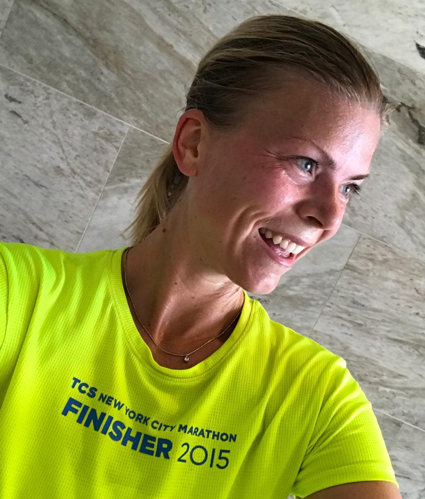 Runners high efter mitt milpass i veckan!