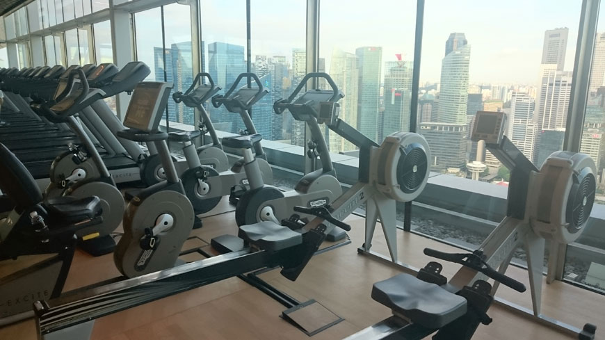 Hotellgym Singapore