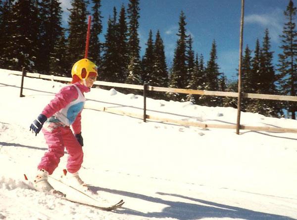 När jag växte upp var vi i Lindvallen och åkte skidor varje vinter. Nu blir det mest solsemestrar på vintern …