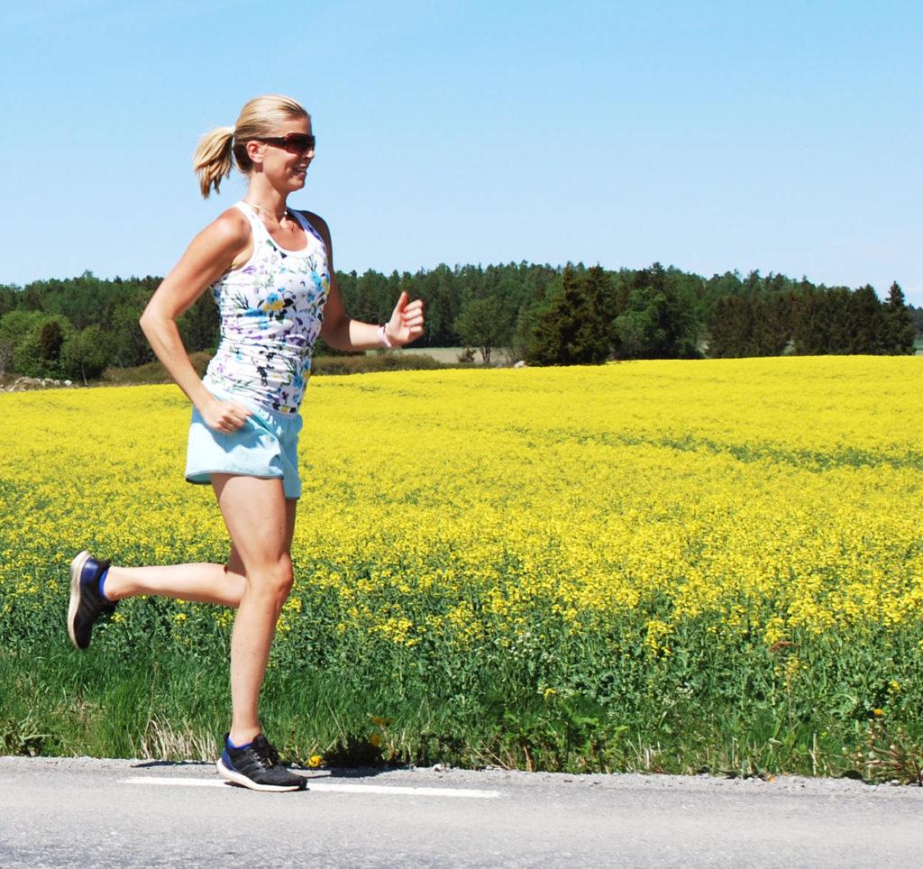 Idag springer jag intervaller inomhus på löpband, men i sommar är det här min målbild. Mina löppass fortsätter även såklart efter Paris Marathon även om det är mitt första mål i år.