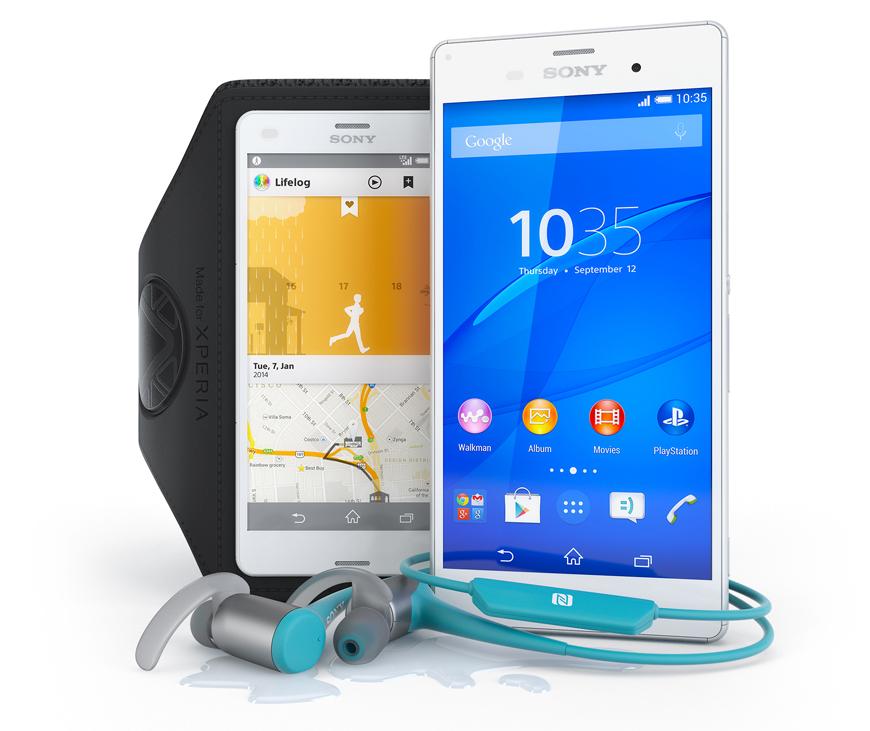 Vinn träningskit från SONY: mobil, lurar och armband.