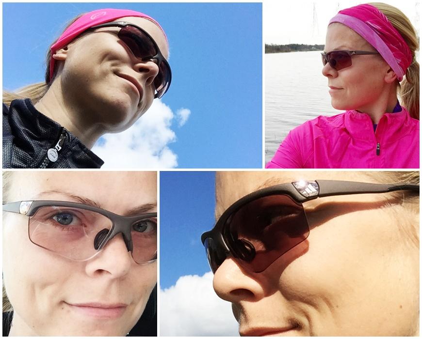 Sportglasögon för löpning, golf och tennis