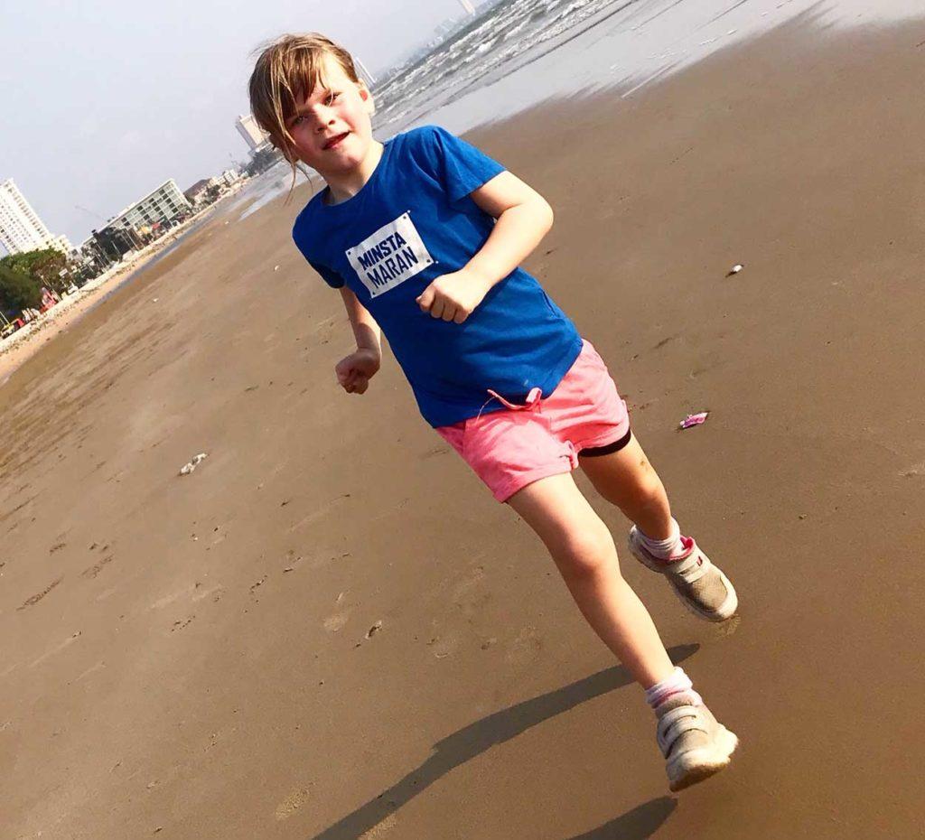 Älskar att få springa tillsammans med Tilde. Så imponerad av hennes styrka, både mentalt och fysiskt.