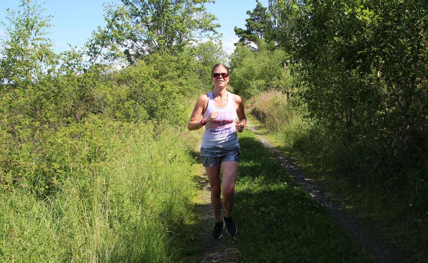 springa på landsväg