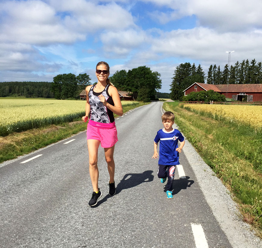 springa med barn, linne: Daily sports